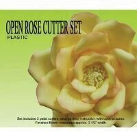 Decupator Petal Crafts Open Rose,