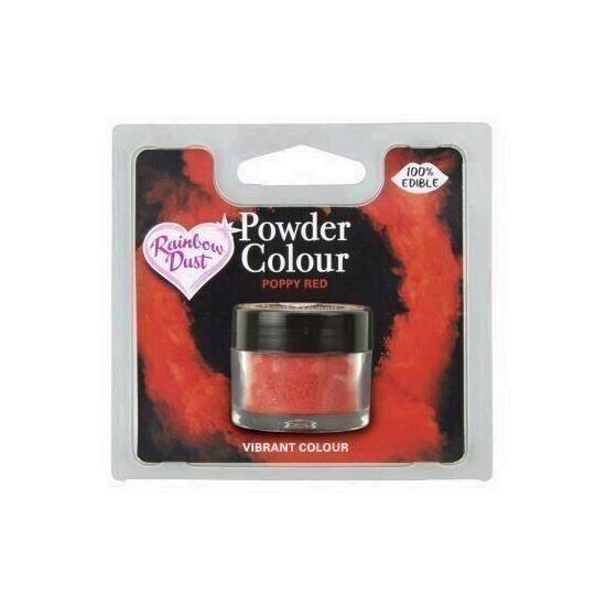 Colorant pudra Poppy Red 2 g